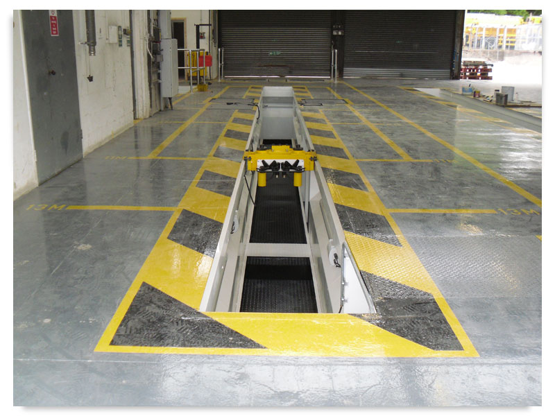 Vehicle Inspection Pits Uk Ltd Steel Vehicle Inspection